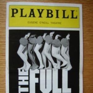 Playbill The Full Monty Patrick Wilson Denis Jones